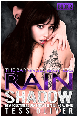 Rain Shadow Book 2 by Tess Oliver Cover